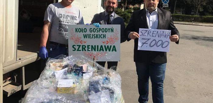 Podziękowania dla Sołectwa i KGW Szreniawa